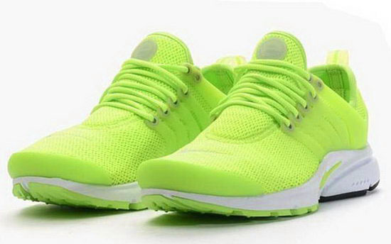 Mens & Womens (unisex) Nike Air Presto Fluorescent Green 36-46 Promo Code